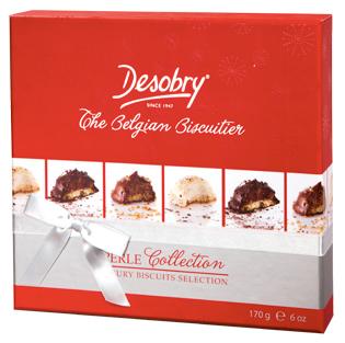 Bánh Bỉ giấy đỏ Desobry 170g