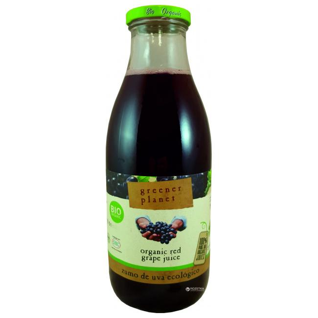 GREENER PLANET - ORGANIC RED GRAPE JUICE