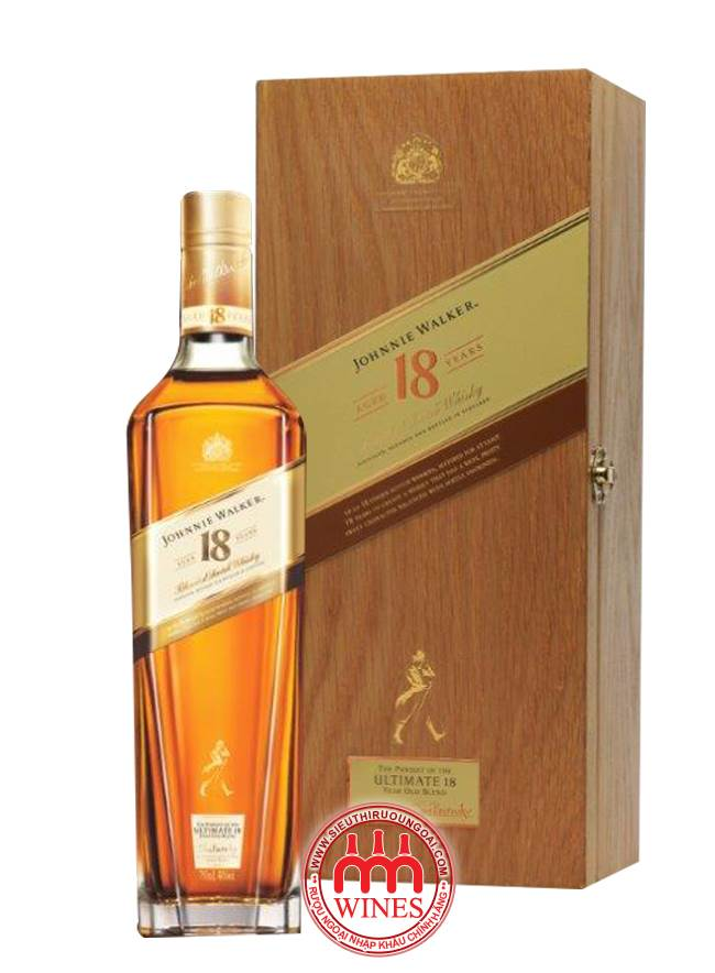 Jw Gold 18 Yo Gift box